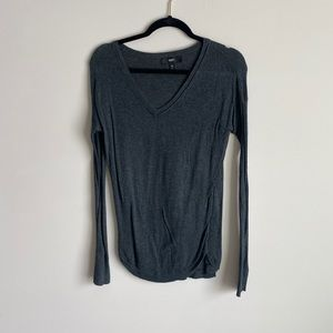 Mossimo Textured/Ribbed Long Sleeve Thermal EUC